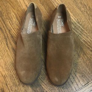 Toms Suede Leather Ankle boots